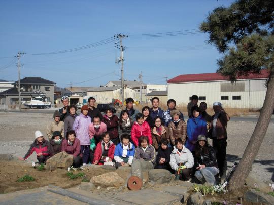 前略、プロジェクトの軌跡 vol.1 ~2013.3.17 石巻ワタノハノ庭(前編)~