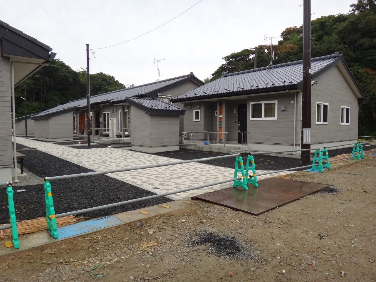 完成した公営住宅